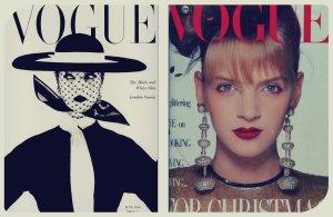 Vogue collage